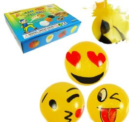 144 Units of Emoji Splat Waterballs - Summer Toys