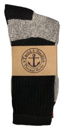 240 Units of Yacht & Smith Mens Warm Cotton Thermal Socks, Sock Size 10-13 - Sock Pallet Deals
