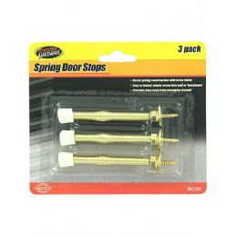 72 Units of 3 Pk Spring Door Stops - Doors