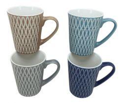 48 Units of Stoneware Mug 11 Ounce - Coffee Mugs