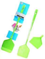 48 Units of 3-IN-1 Fly Swatter Broom And Dustpan - Pest Control