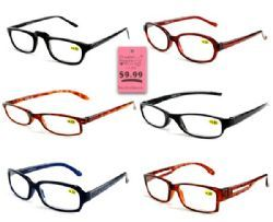 300 Units of 4.00 Reading Glasses Assorted - Reading Glasses
