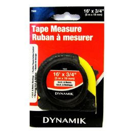 """72 Units of 3/4"""" X 16' Tape Measure - Tape Measures and Measuring Tools"""