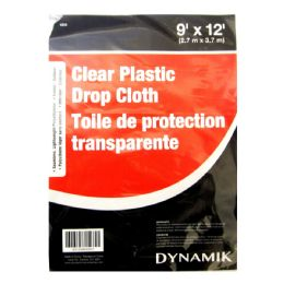 72 Units of 9'x12' Drop Cloth - Hardware Products