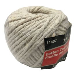 72 Units of 150 FOOT COTTON TWINE - Rope and Twine