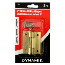 "72 Units of 2 Piece 2"" (50mm) Brass Hinge - Hooks"