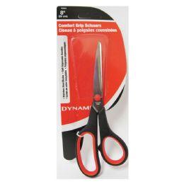 """72 Units of 8"""" Comfort Grip Scissors - Scissors"""