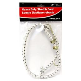 "72 Units of 24"" HEAVY DUTY STRETCH CORD - Bungee Cords"