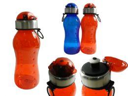 48 Units of Sport Water Bottle With Flip Top Lid - Sport Water Bottles