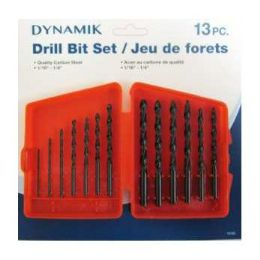 "72 Units of 13 Piece Drill SeT-1/16""-1/4"" - Drills and Bits"