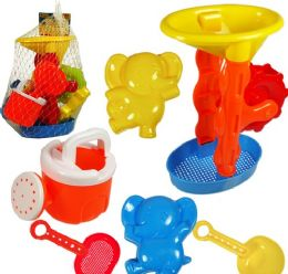 18 Units of 6 Piece Beach Play Sets - Beach Toys