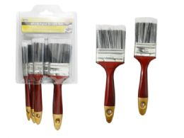 96 Units of 5 Piece Paint Brush Set - Paint and Supplies