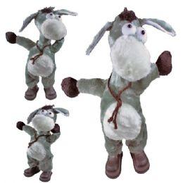 6 Units of Battery Operated Dancing Donkey - Plush Toys
