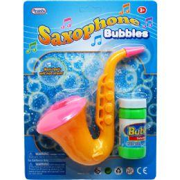 48 Units of Sevren Inch Saxaphone Bubbles - Bubbles