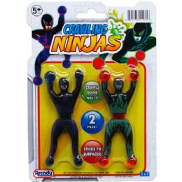 144 Units of Two Piece Crawling Ninjas - Action Figures & Robots
