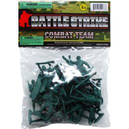 72 Units of 24 Piece Army Combat Team - Action Figures & Robots