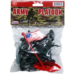 72 Units of Fourteen Piece Army Figures - Action Figures & Robots