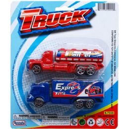 48 Units of Two Piece Mini Truck - Cars, Planes, Trains & Bikes