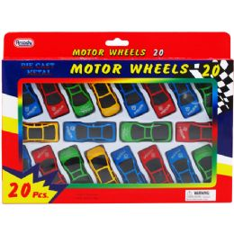 36 Units of Twenty Piece Motor Wheels - Cars, Planes, Trains & Bikes
