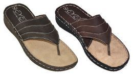 24 Units of MEN'S SANDALS IN 2 COLORS - Men's Flip Flops and Sandals