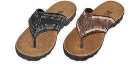 18 Units of Mens Assorted Color Sandals - Men's Flip Flops and Sandals