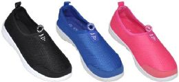 24 Units of Assorted Color Water Shoe - Women's Aqua Socks