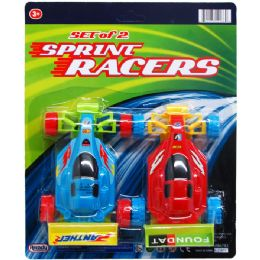 48 Units of 2 Piece Sprint Racer Cars - Cars, Planes, Trains & Bikes