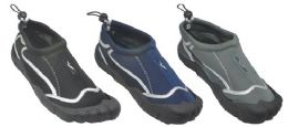 30 Units of Men's Assorted Color Water Shoe - Men's Aqua Socks