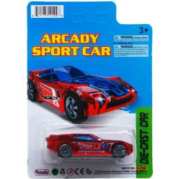 72 Units of Arcady Sport Car - Cars, Planes, Trains & Bikes