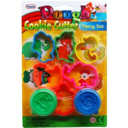 72 Units of Eight Piece Play Dough Molder Set - Clay & Play Dough