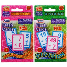 72 Units of Learning Flash Cards - Educational Toys