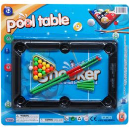 48 Units of Pool Table Play Set - Magic & Joke Toys