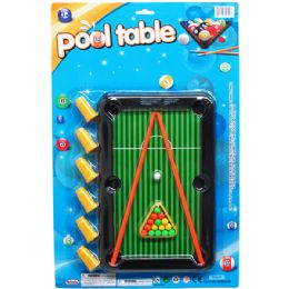 36 Units of Pool Table Play Set - Dominoes & Chess