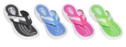 36 Units of WOMEN'S ASSORTED COLOR FLIP FLOPS - Women's Flip Flops
