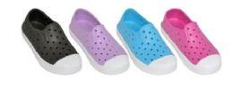 36 Units of GIRLS ASSORTED COLOR WATER SHOE - Girls Flip Flops