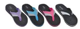 36 Units of WOMAN ASSORTED COLOR FLIP FLOPS - Women's Flip Flops