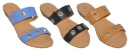 24 Units of GIRLS' ASSORTED COLOR SANDAL - Girls Sandals