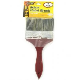 72 Units of Deluxe paint brush - Paint and Supplies