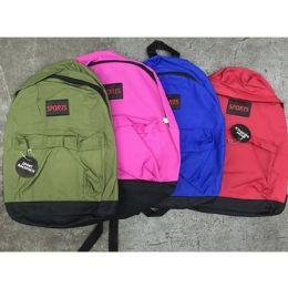 "48 Units of School Bag/book Bag 15 Inch - Backpacks 15"" or Less"