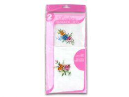 72 Units of Ladies Handkerchief Set - Handkerchief