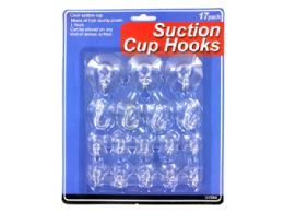 72 Units of Suction Cup Hooks - Hooks