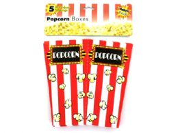 36 Units of Individual Serving Popcorn Boxes - Serving Trays
