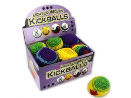 72 Units of Light-Up Woven Kick Sack Countertop Display - SUMMER TOYS