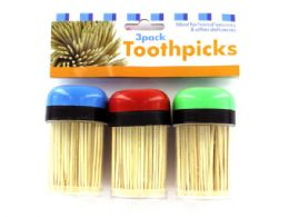 36 Units of Toothpicks In Containers Set - Toothpicks