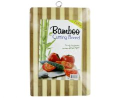 12 Units of Striped Bamboo Cutting Board - Cutting Boards