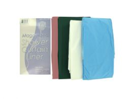 72 Units of Magnetized Shower Curtain Liner - Shower Curtain