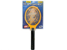 12 Units of Battery Operated Bug Zapper Tennis Racket - Pest Control