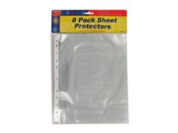 75 Units of Plastic Sheet Protectors - Paper