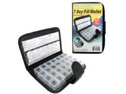 18 Units of 7 Day Pill Wallet - Pill Boxes and Accesories