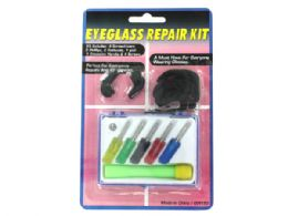 72 Units of Eyeglass Repair Kit with Case - Eyeglass & Sunglass Cases